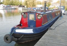 "The Narrowboat ""Gordale"""